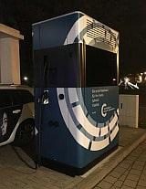 Mobile Ladesäule in Wolfsburg