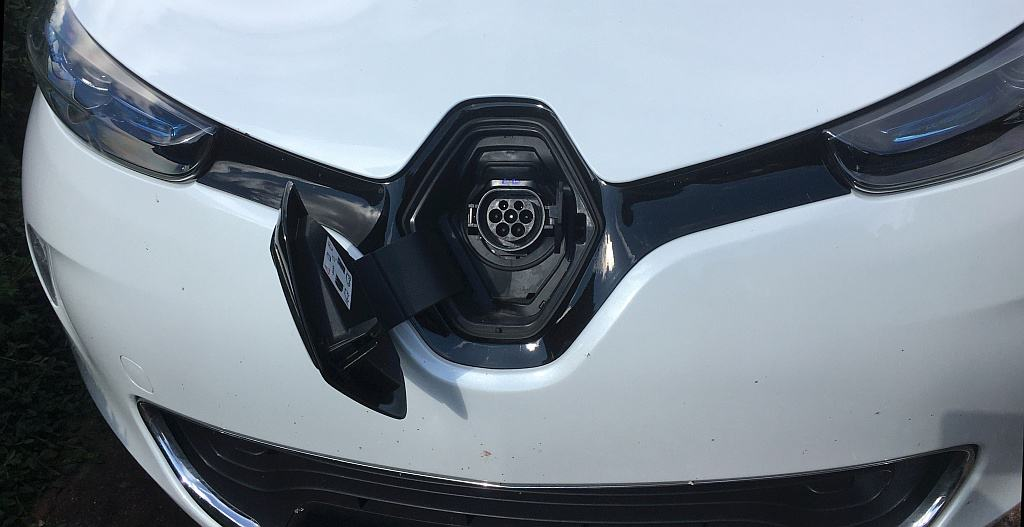 Nasenlader Renault Zoe