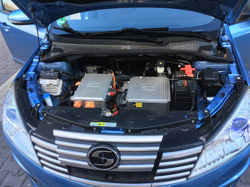 Suda EV Motorraum