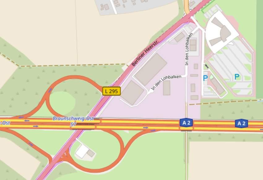 Standort des geplanten Tesla-Superchargers in Wolfsburg