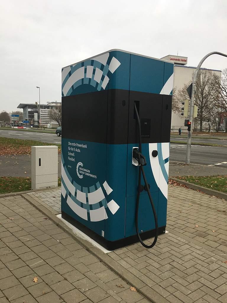 Ausgefallene Flexible Ladesäule in Wolfsburg