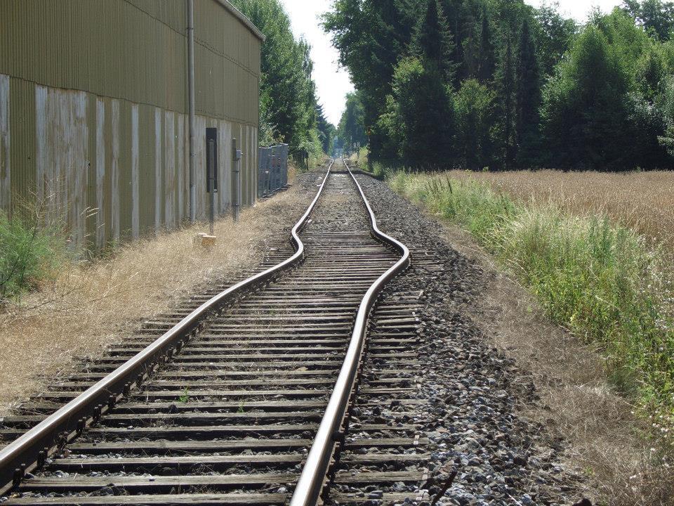 Schienenverwerfungen im Sommer