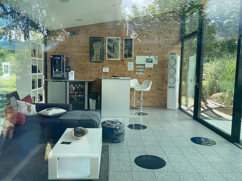 Tesla-Lounge in Kapfenberg von innen